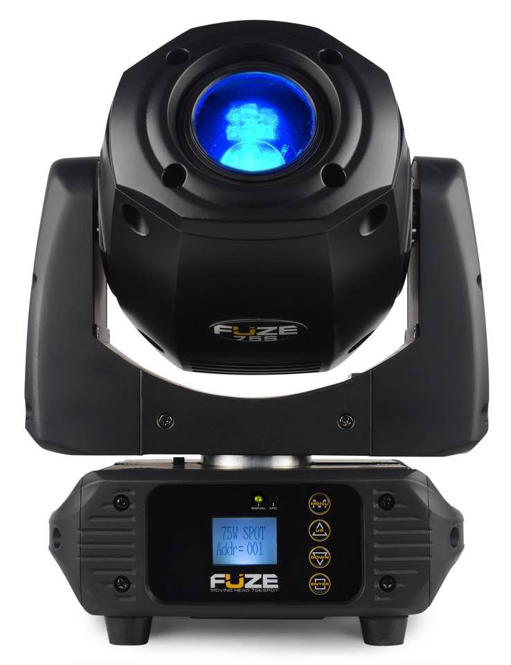 BEAMZ FUZE75S SPOT 75W LED MOV.HEAD DMX