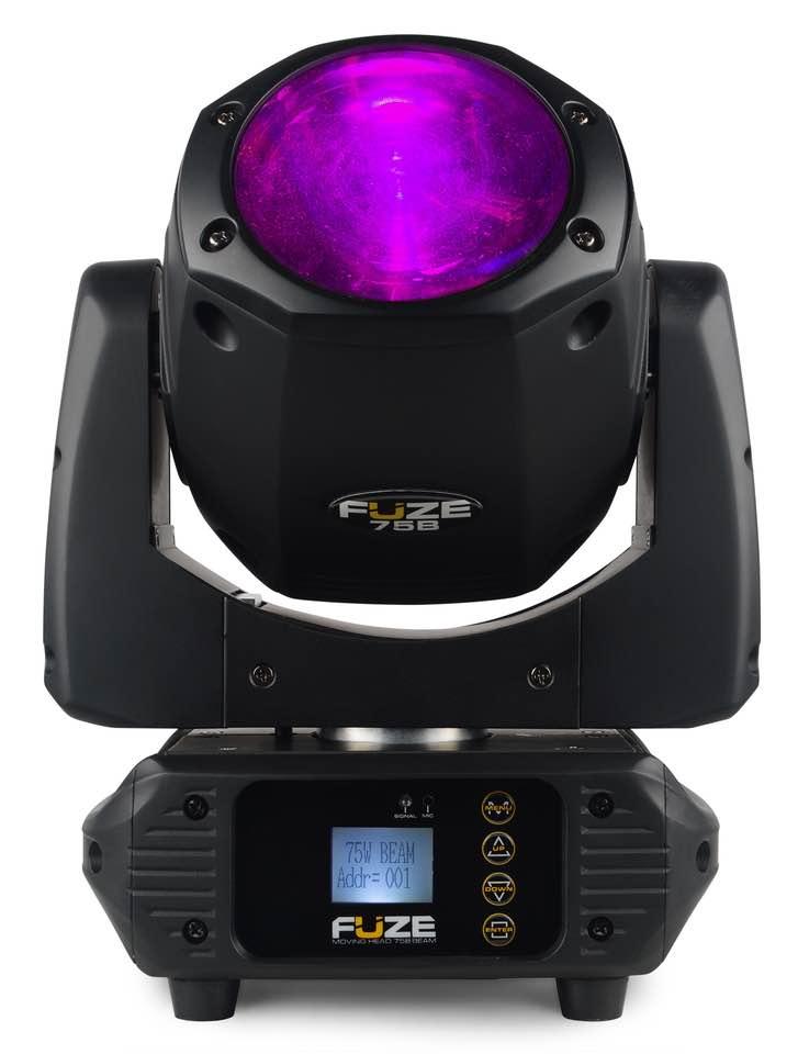 BEAMZ FUZE75B BEAM 75W LED MOV.HEAD DMX