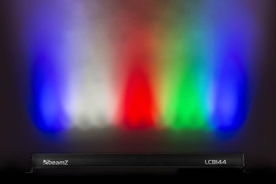 BEAMZ LCB244 LED BAR ALUM.24 X 4W RGBW 4I