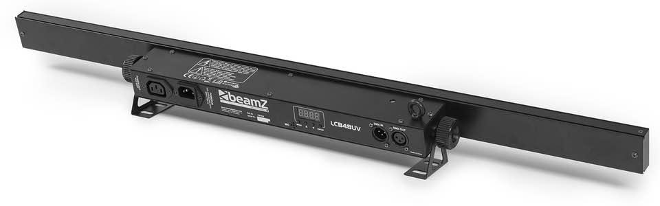 BEAMZ LCB48UV LED BAR 18X3W UV DMX IRC 1M