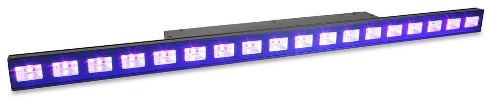 BEAMZ LCB48 UV LED BAR WITH DMX