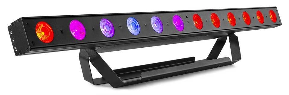 BEAMZ LCB155 LED BAR 12X12W 6IN1 RGBWA-UV