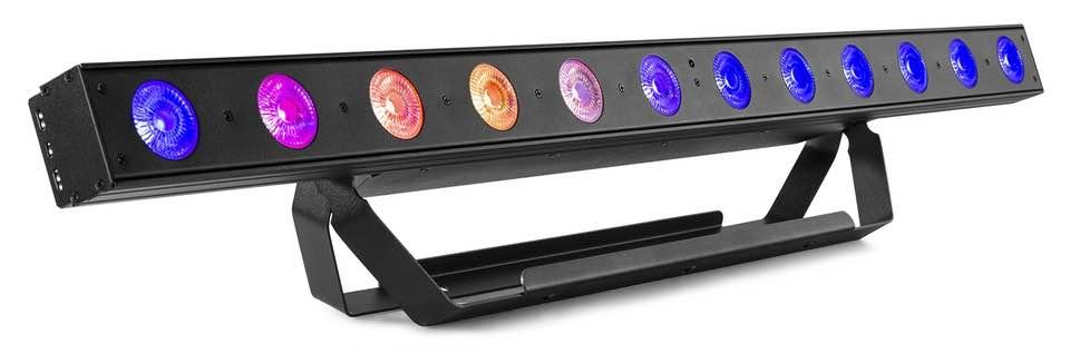 BEAMZ LCB145 LED BAR 12X8W 4IN1 RGBW DMX