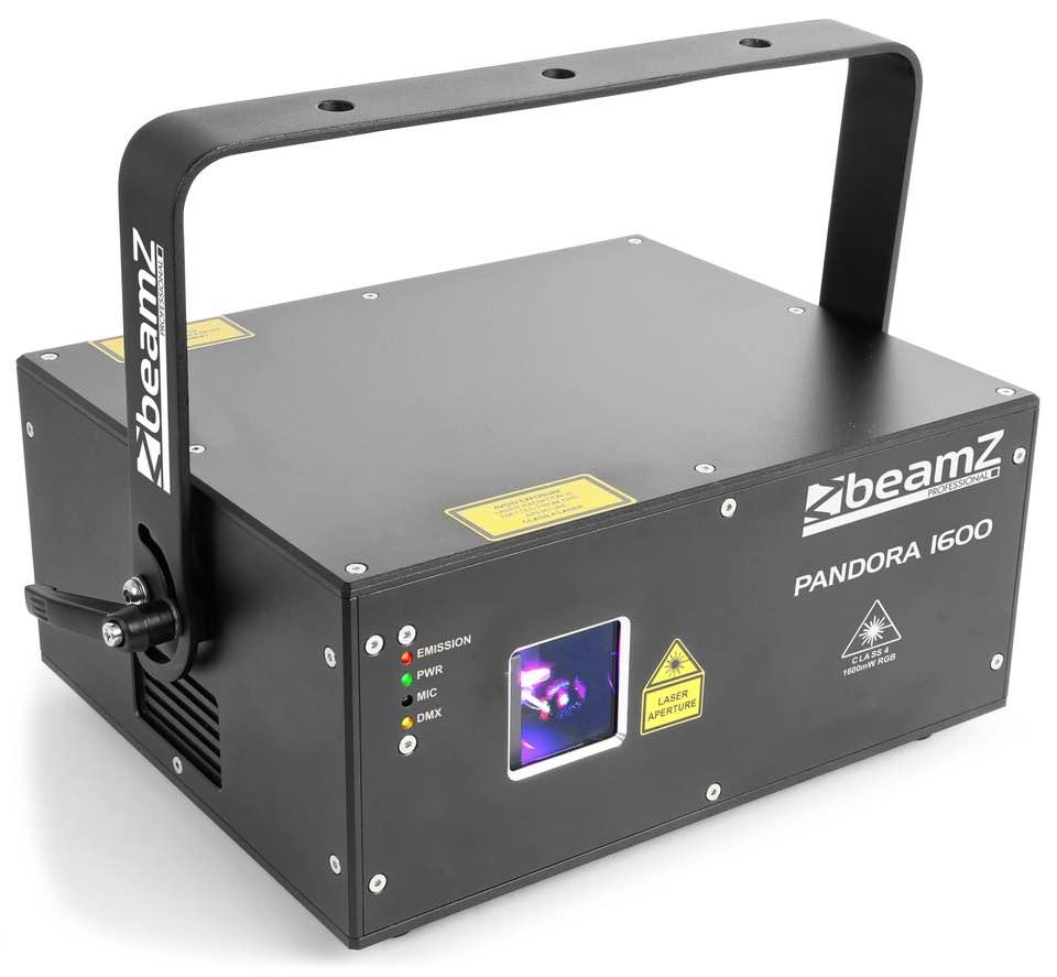 BEAMZ PANDORA 1600 TTL LASER RGB