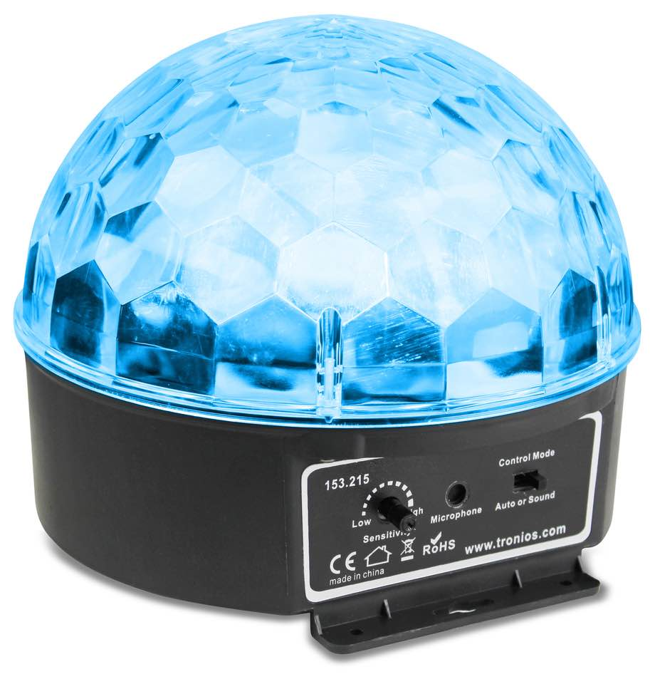 BEAMZ MINI STAR BALL 6X 3W RGBAW LED