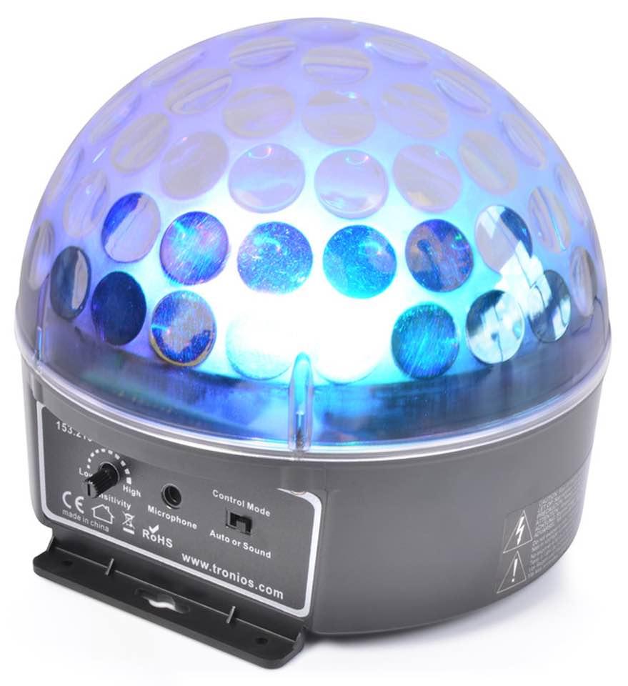 BEAMZ MAGIC JELLY PALLA DA DJ 3X 3W RGB