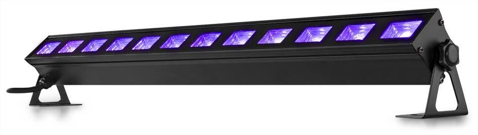 BEAMZ BUV123 LED BAR 12X3W UV