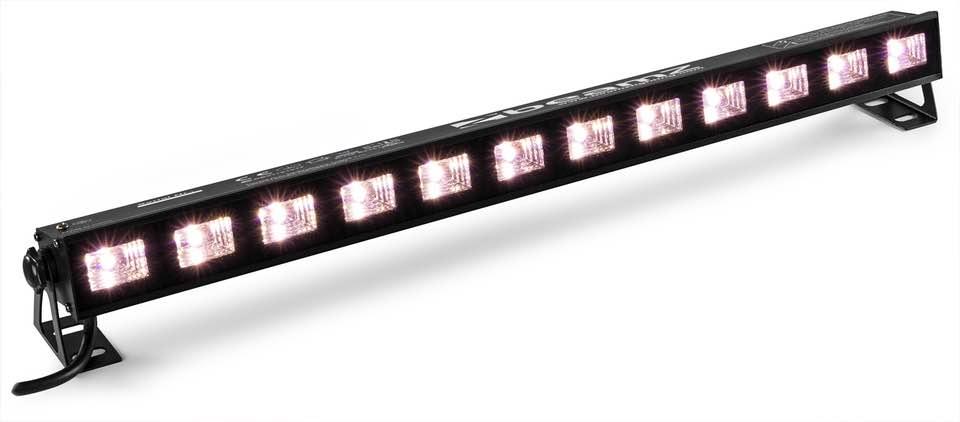 BEAMZ BUVW123 LED BAR 12X3W UV/WW 2IN1