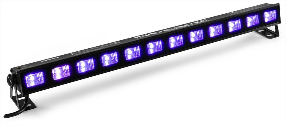 BEAMZ BUVW123 BARRA 12X 3W UV/BIANCA 2-IN-1 LED