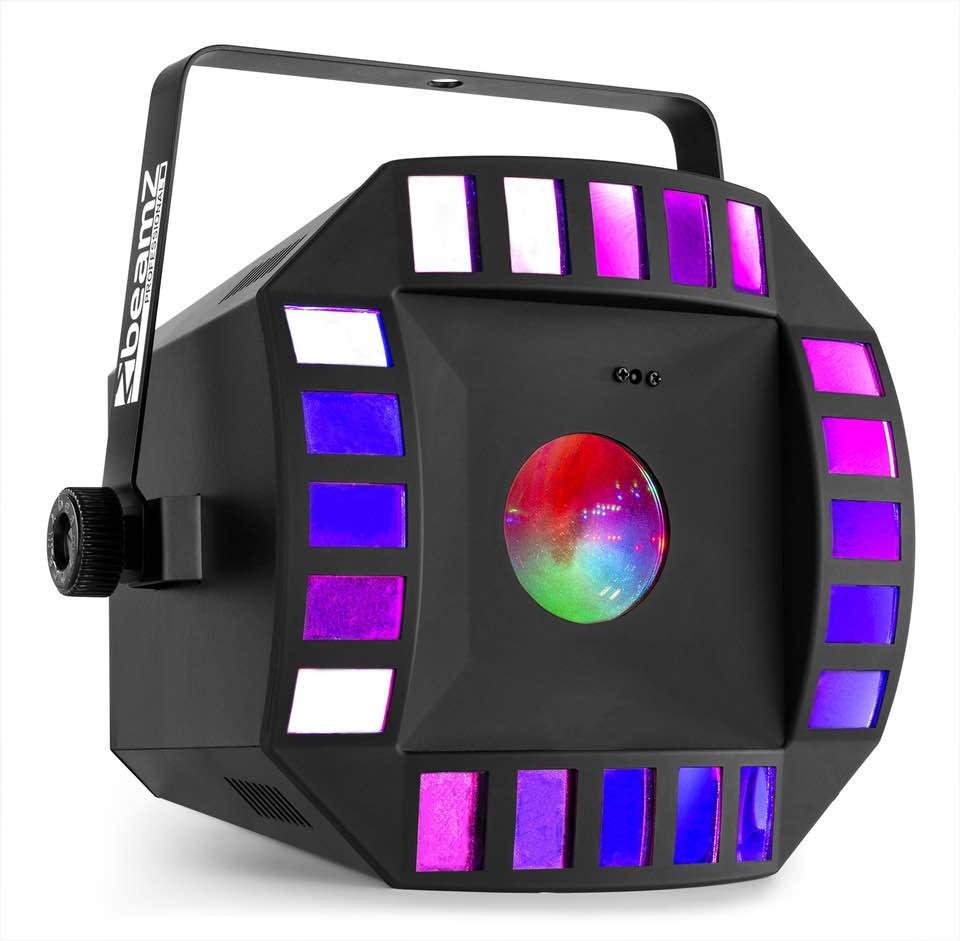BEAMZ CUB4 II LED QUAD DERBY CON MOONFLOWER