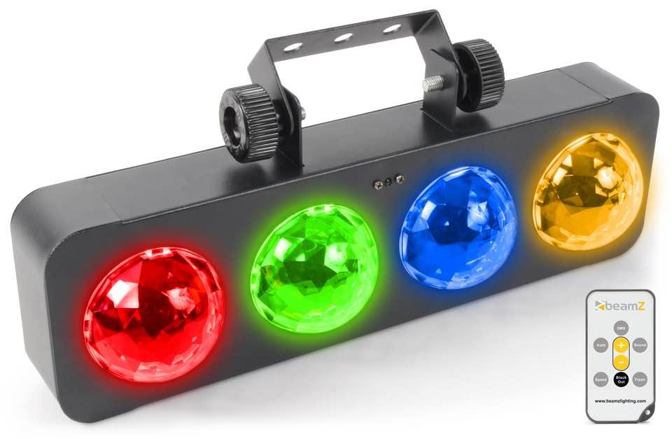 BEAMZ DJ BANK BX 4X 3W RGBA LED