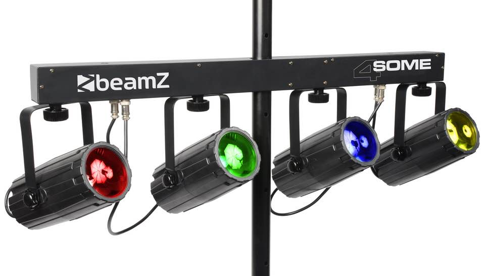 BEAMZ 4-SOME LIGHT SET 4X 57 RGBW LED