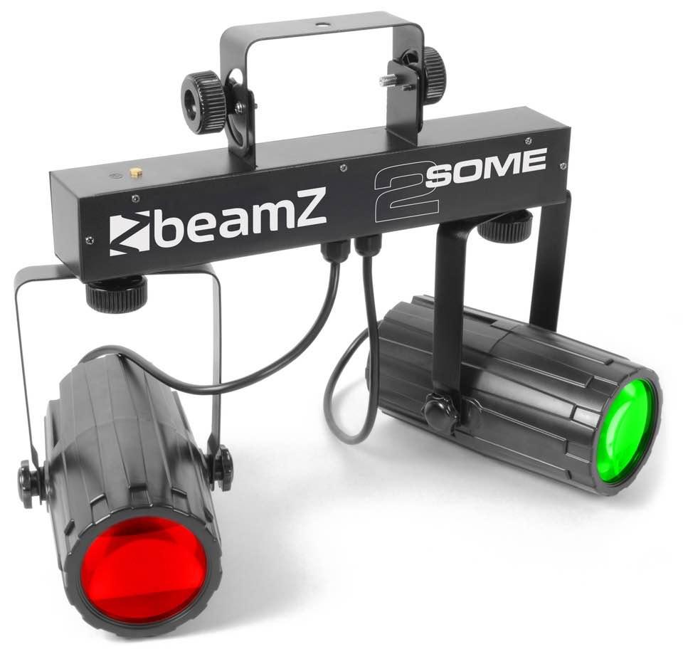 BEAMZ 2-SOME LIGHT SET 2X 57 RGBW LEDS