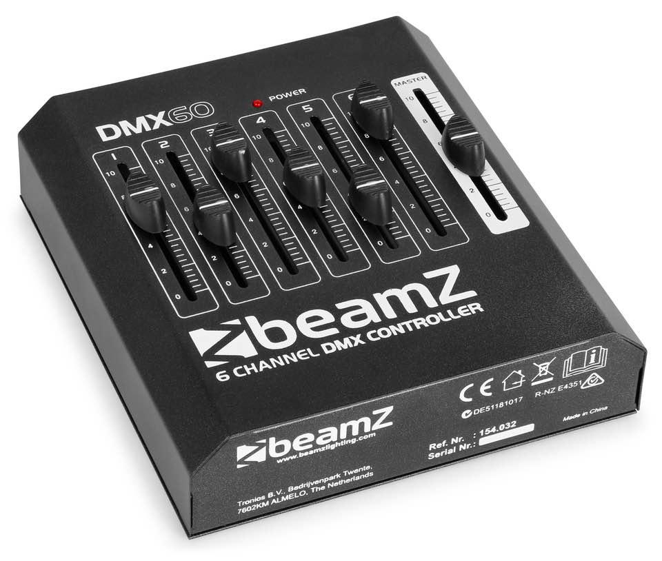 BEAMZ CONTROLLER DMX60 A 6 CANALI