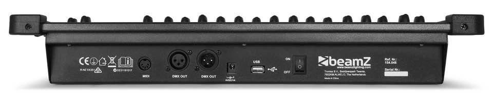 BEAMZ DMX384 CONTROLLER 384 CHANNEL
