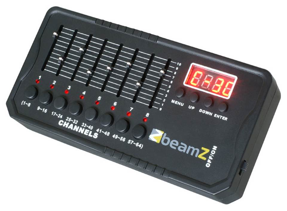 BEAMZ DMX-512MINI CONTROLLER BATT.