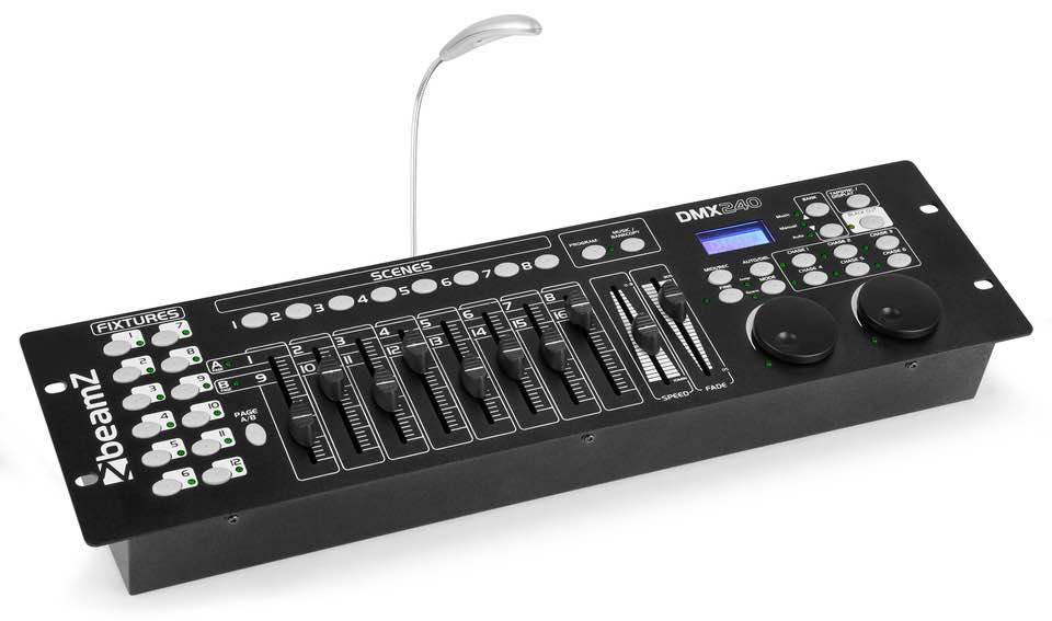 BEAMZ CONTROLLER DMX-240 192 CANALI