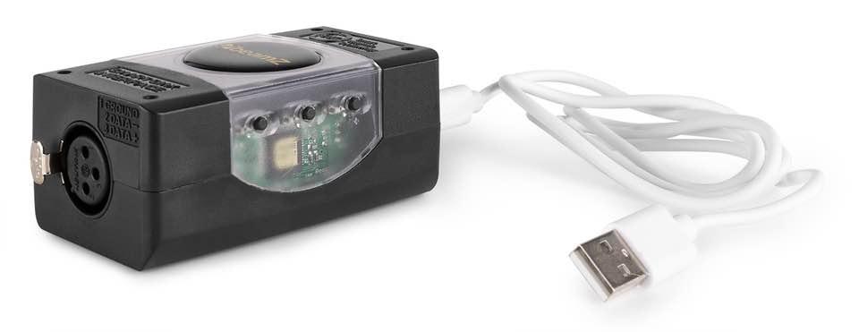 BEAMZ LIGHT RIDER/ESA2 USB DMX INTERFACE