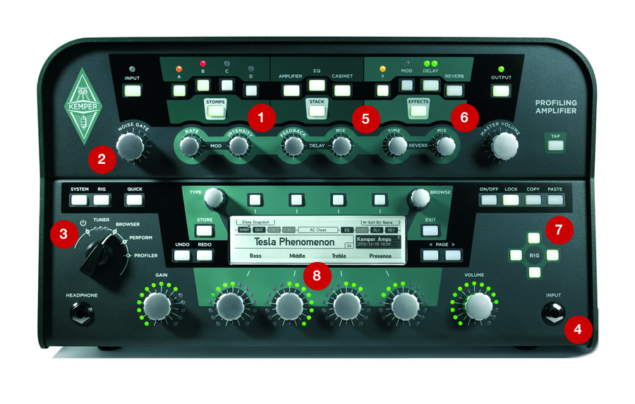 KEMPER KEMPER PROFILER HEAD