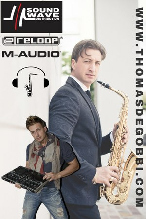 thomas de gobbi dj sax soundwave