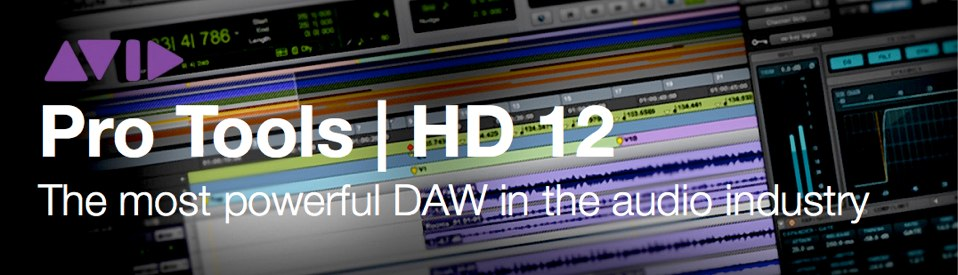 Avid Pro Tools HD 12-01