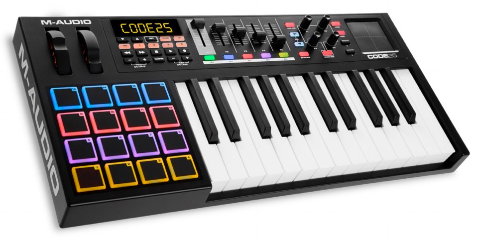 M-Audio CODE 25 Black-01