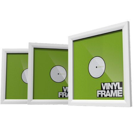 Vinyl Frame Set White