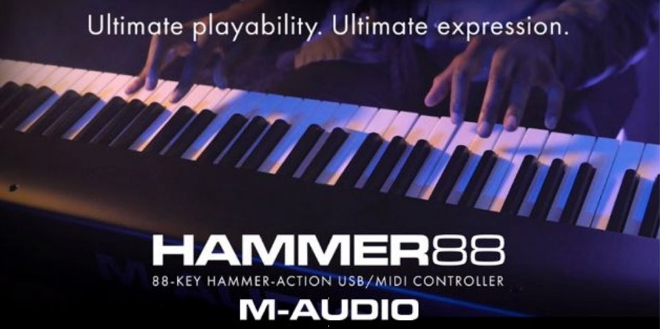 NEWS M-Audio Hammer 88 video-01
