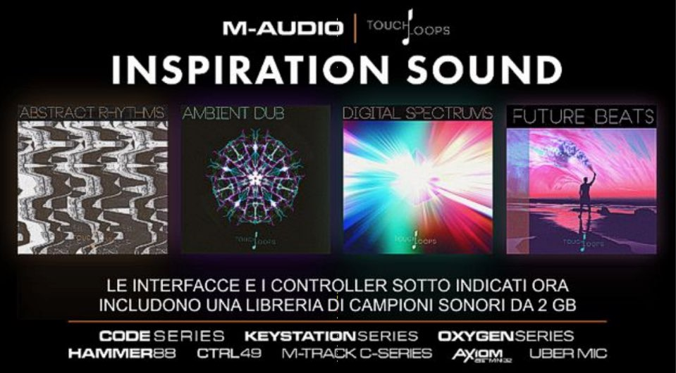 NEWS M-Audio e Inspiration Sound-01