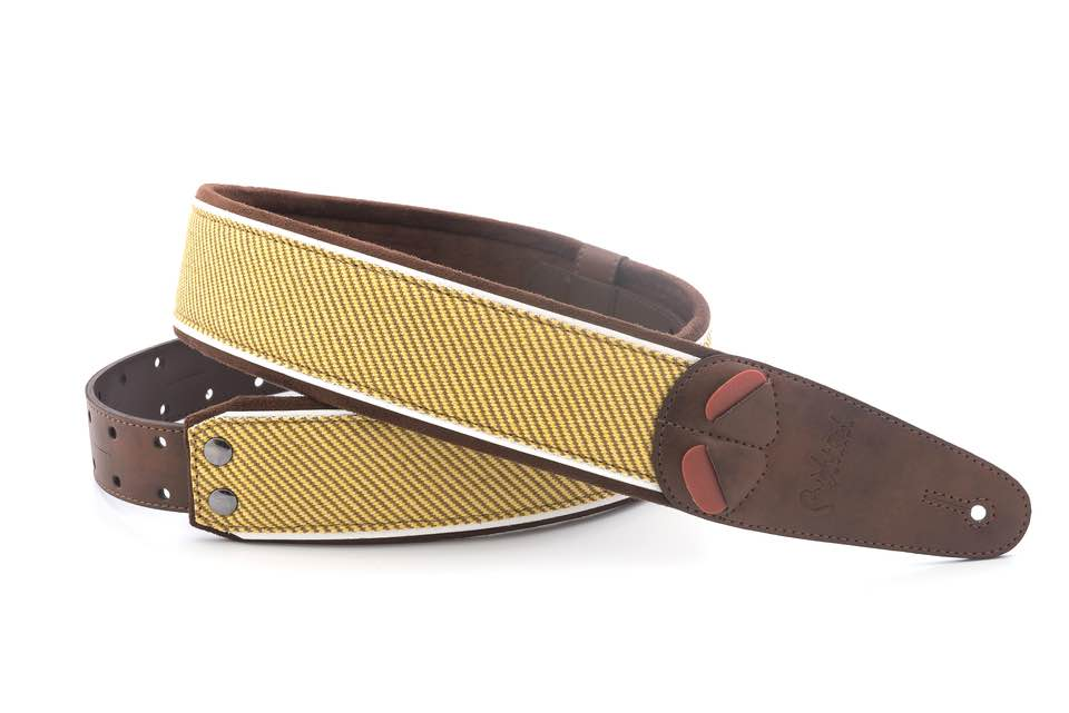 RIGHTON STRAPS AMPSTRAPS TWEED BROWN